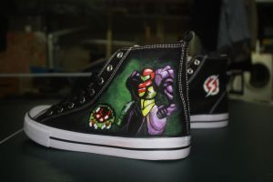 Metroid Custom Shoes by Harpo-exe