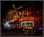 Moulin Rouge at Midnight by bka-ratte