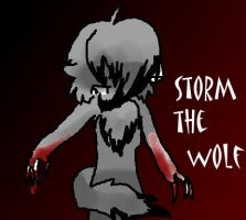 Storm the wolf by Aekamii