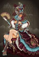 Venice Carnival by dimary