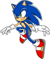 SONIC THE HEDGEHOG 2006 TO SA: SONIC by Waito-chan