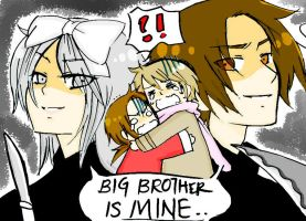 Big Brother is MINE... by IDASWANZ