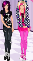 If we were emo!!!!! XD by lilliethecat