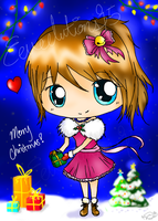 Merry Christmas, from Ari by Eeveelutions95