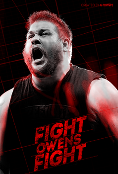 Kevin Owens,Fight Owens Fight by GFXWWE