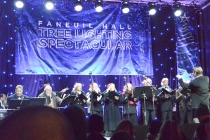 Boston's Faneuil Hall Tree Lighting,Pops Orchestra by Miss-Tbones