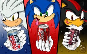 Hedgehogs coke by XAMOEL