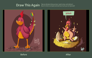 Draw This Again Contest by Ivanobich