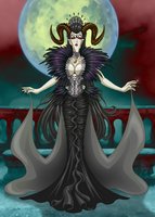 The Black Queen by ArtistMeli