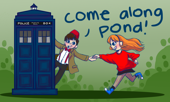 Come along Pond! by Zunflowerkat