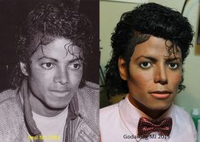 MJ comparsion bust vs real MJ by godaiking