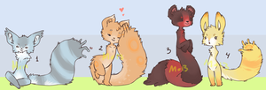 Adoptable Nubbynubs by Morthern