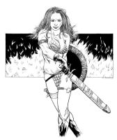 Red Sonja 001 by renonevada