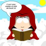 Dante Alighieri in the paradise ver. SOUTH PARK by thestan456