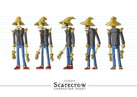 scarecrow by b0sley