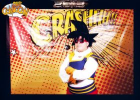 Goku Yadrat cosplay by Kixianth