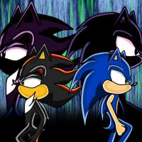 sonic and shadow by rouge2t7