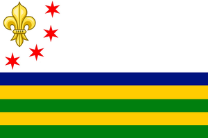 Alternate Illinois Flag by konstantinpalailogos