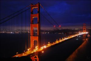 The Golden Gate by Anters