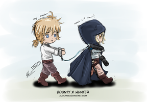 The Bounty and the Hunter by Jax-chan