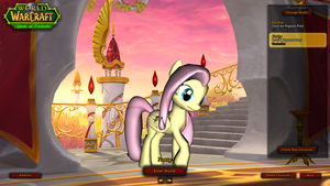 Mists of Pandaria Pony Login by Thorinair