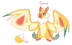 MYO Mothbat Contest - Sunburst by cailas-moon