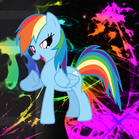 rainbow dash wallpaper by JustWestOfWeird