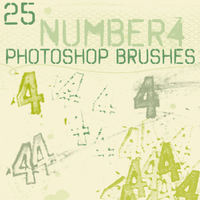 number 4 brushes by chokingonstatic
