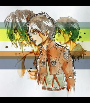 Eren Jaeger: Past, Present, Future? by MoPotter