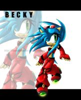 ::Becky the hedgehog:: by puritylf4-fans