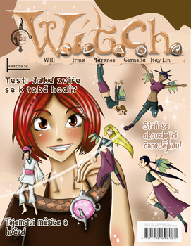 W.I.T.C.H. - magazine cover by Neocco