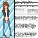 MerchGirl Ref by FalseBeing