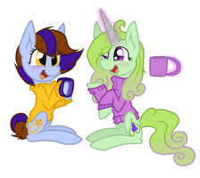 Chatting by McWolfity