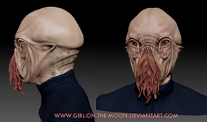 zBrush Ood Sculpt by Girl-on-the-Moon