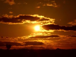 Sunset Untergang by OPTILUX