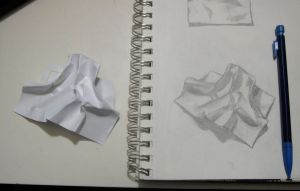 Paper Study 2 by WendyFae