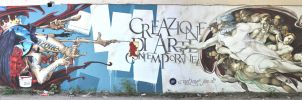 Creazione di arte contemporanea by Un2one