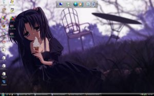 My desktop by haruhis2kyon