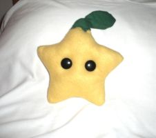 Crappy Homemade Paopu Plushie by chicken-stir-fry
