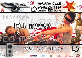 flyer DJ Mara Havana Club by semaca2005