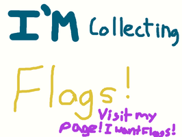 Collecting visitor flags! by pokemontrainerjay