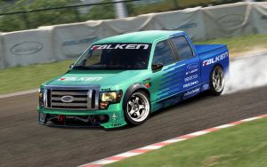 Ford F150_Falken Drift Team by DURCI02