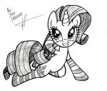 Rarity Socks by JcosNeverExisted
