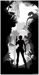 Tomb Raider Silhouette Art 01 by ReD8ull