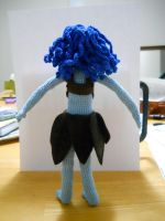 curly hair doll back view by onlyRa