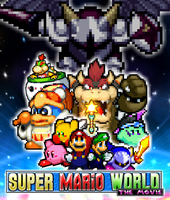 Super Mario World - The Movie Poster by xXBrawlStudiosXx