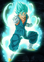 Vegetto Blue!! Dragon Ball Super by SenniN-GL-54