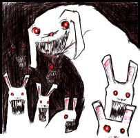 undead rabbits by roughsix