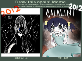 Draw this again! Meme - Calalini by Mindless-Artist