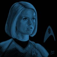 Star Trek portrait series 09 - Carol Marcus - Eve by jadamfox